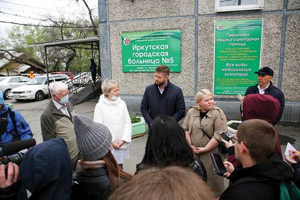 Изображение к статье Депутаты думы Иркутска провели выездное совещание по поводу будущего поликлиники № 5 На Иркутскинформ