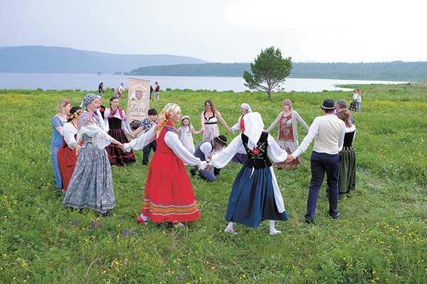белорусы хоровод