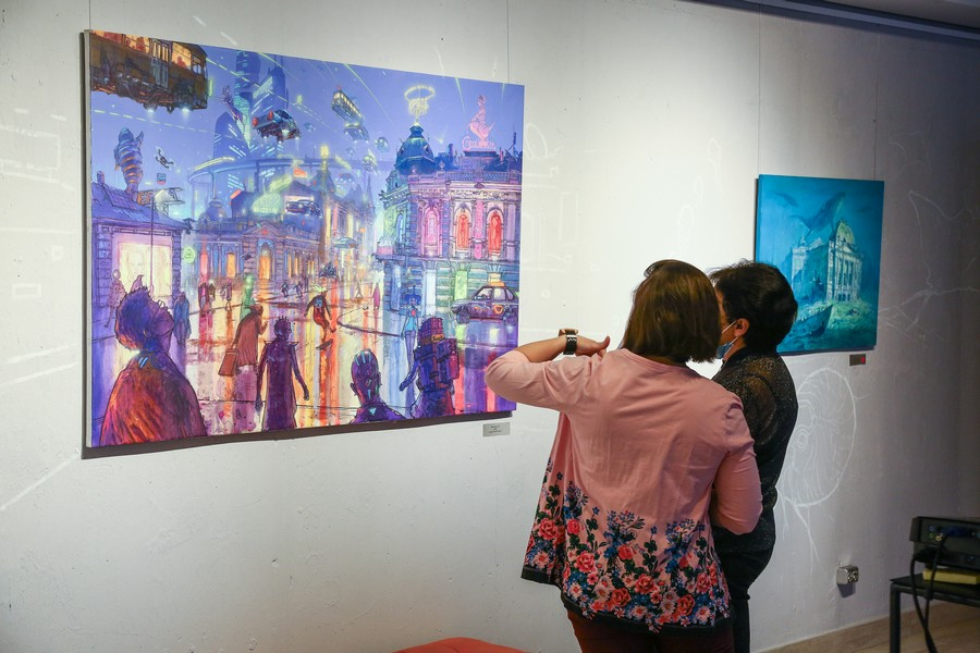 выставка в арт-галерее DiaS