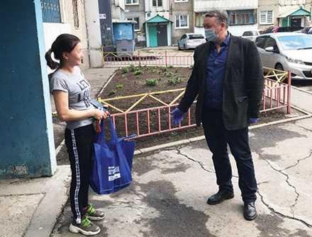 Депутат Василий Донских