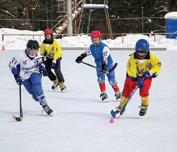 дети хоккей