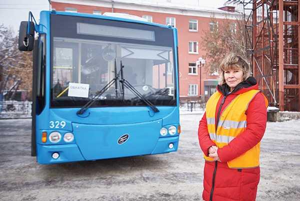 троллейбусное депо Иркутск