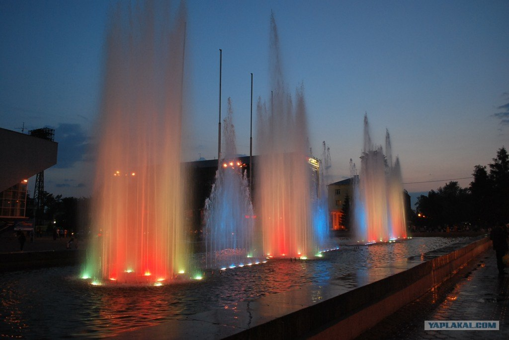 фонтан у цирка