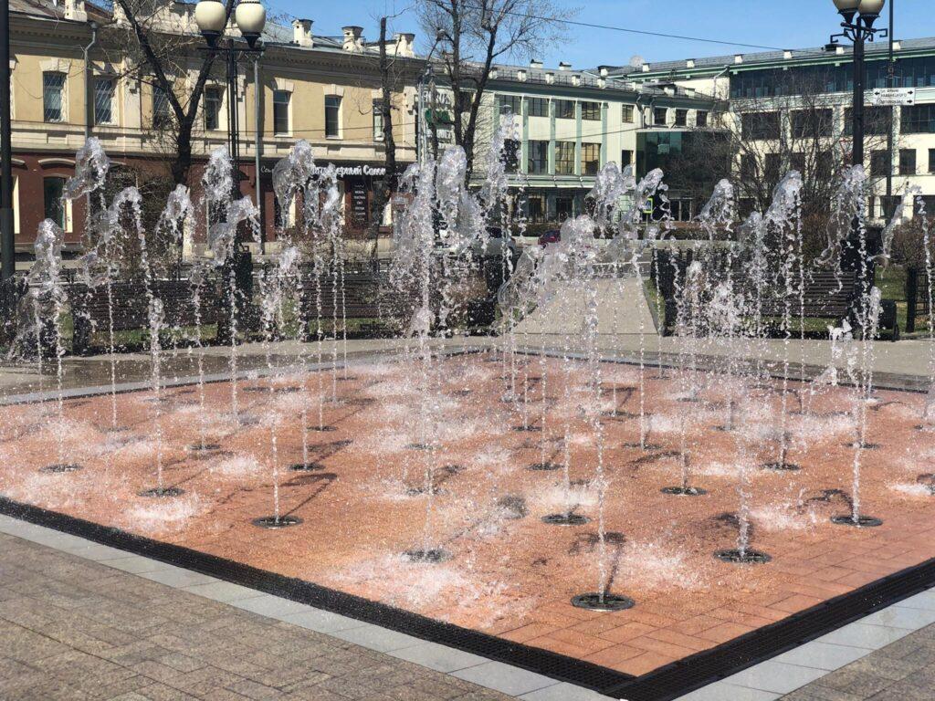 фонтан ул. Карла Маркса