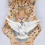 тигр картина