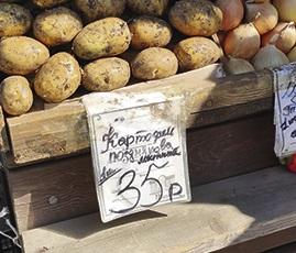 картошка рынок
