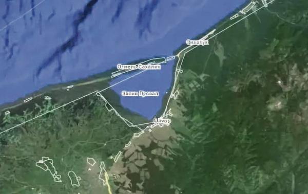 карта залив Провал